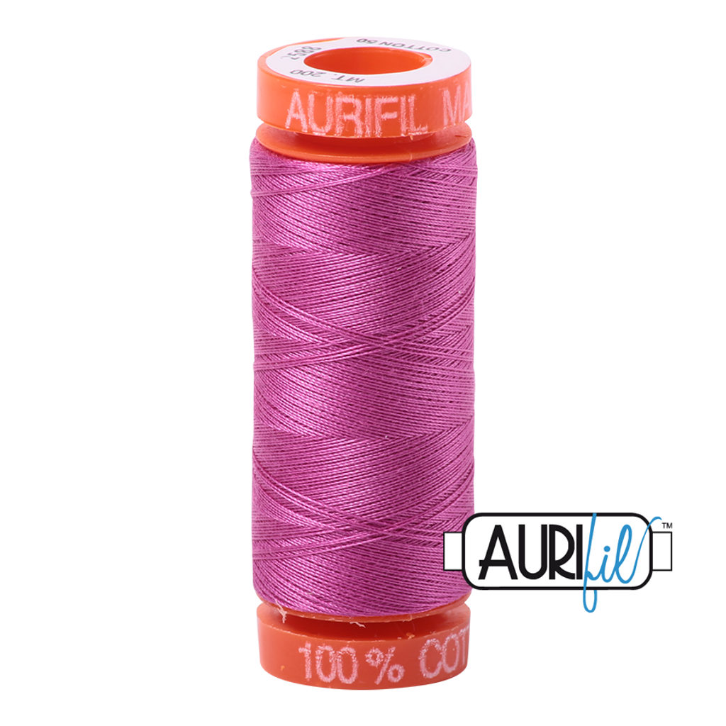 Mako Cotton 50wt 200m - 2588 (Light Magenta)