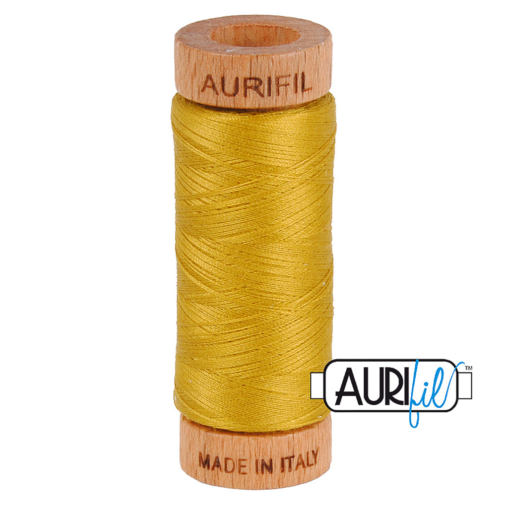 Mako Cotton 80wt 280m - 5022 (Mustard)