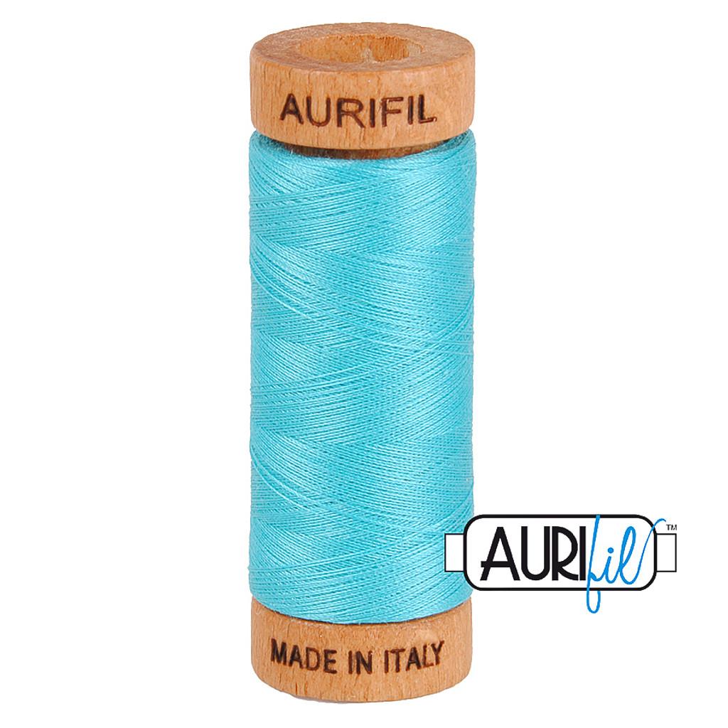 Mako Cotton 80wt 280m - 5005 (Bright Turquoise)