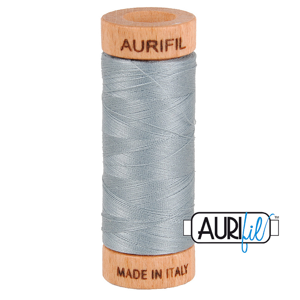 Mako Cotton 80wt 280m - 2610 (Light Blue Grey)