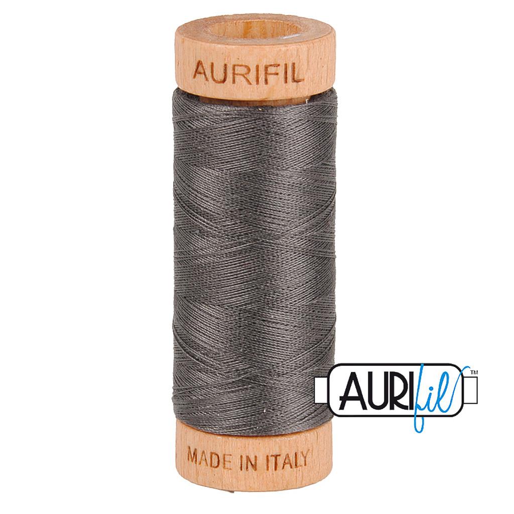 Mako Cotton 80wt 280m - 2630 (Dark Pewter)
