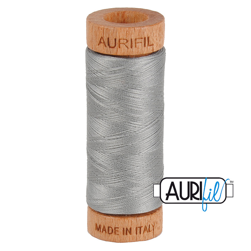 Mako Cotton 80wt 280m - 2620 (Stainless Steel)