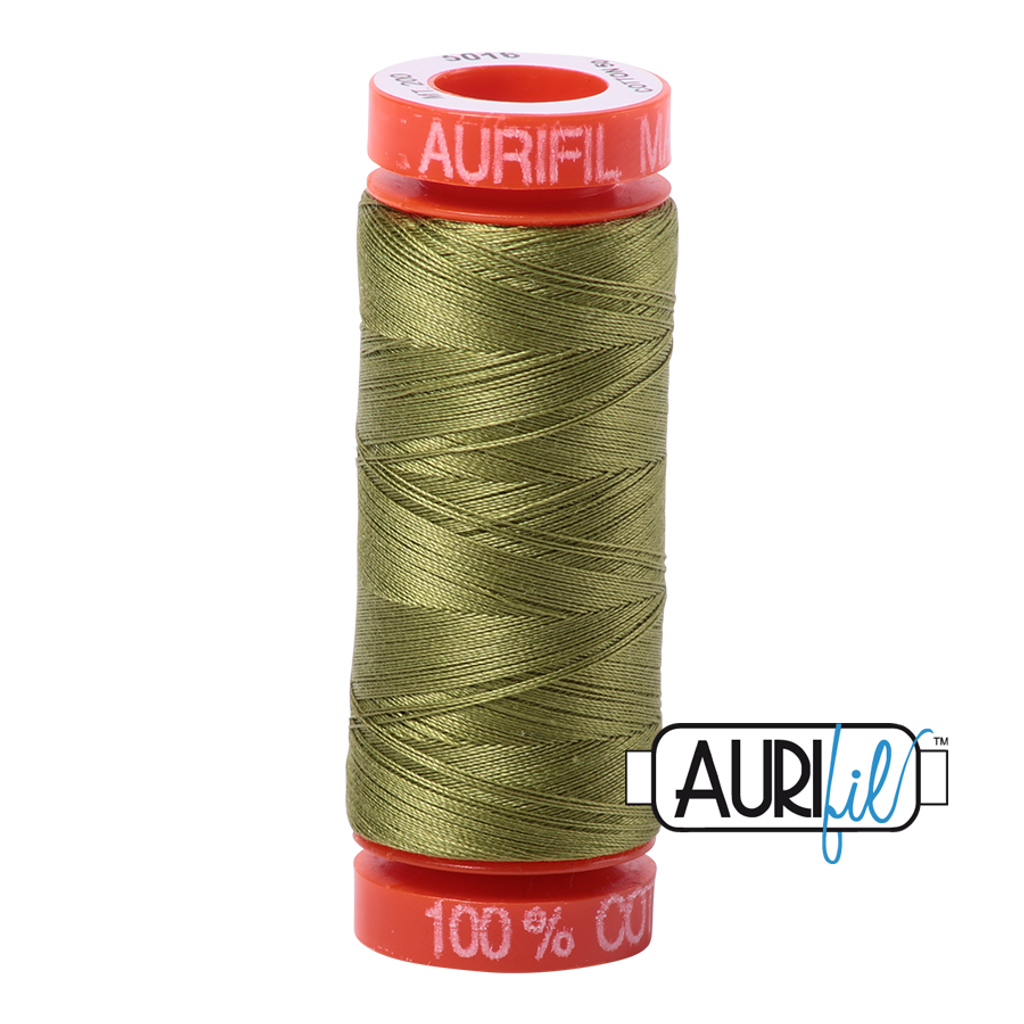 Mako Cotton 50wt 200m - 5016 (Olive Green)