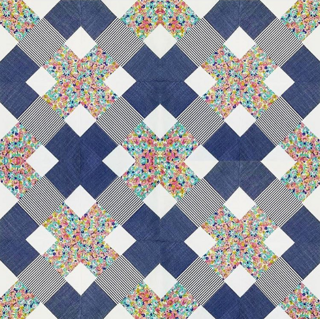 Kris Kross Quilt Pattern (PDF)
