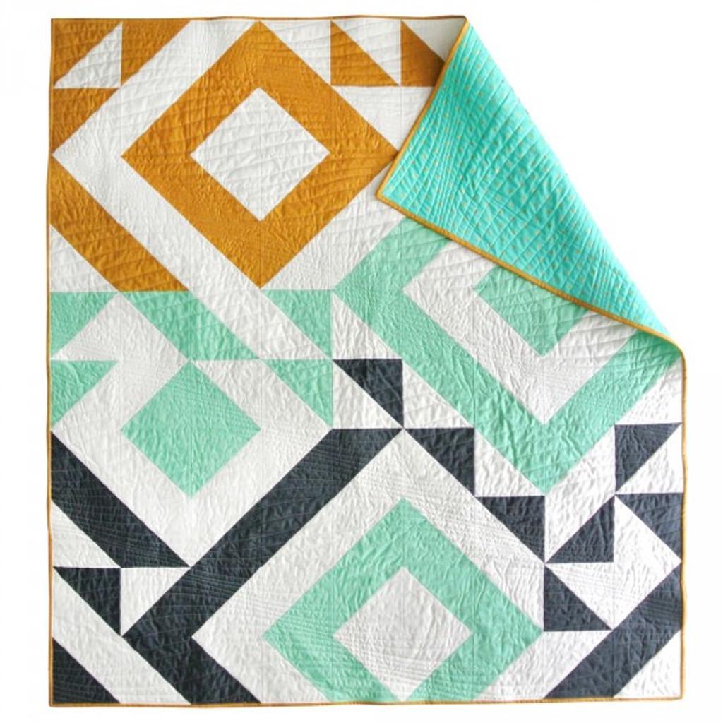 Triangle Jitters Quilt Pattern (PDF)