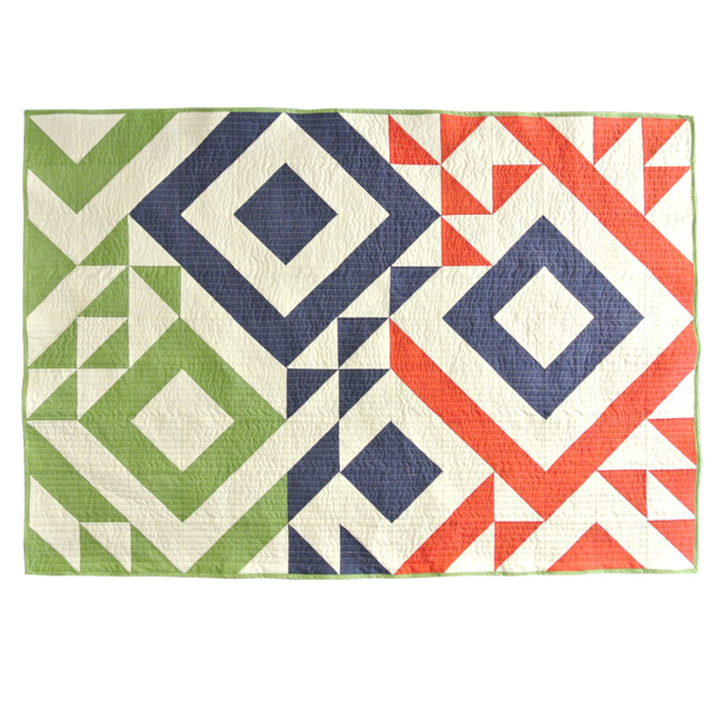 Triangle Jitters Quilt Pattern