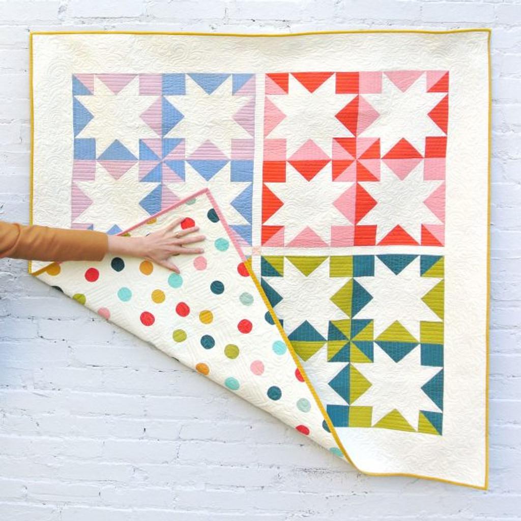 Stars Hollow Quilt Pattern