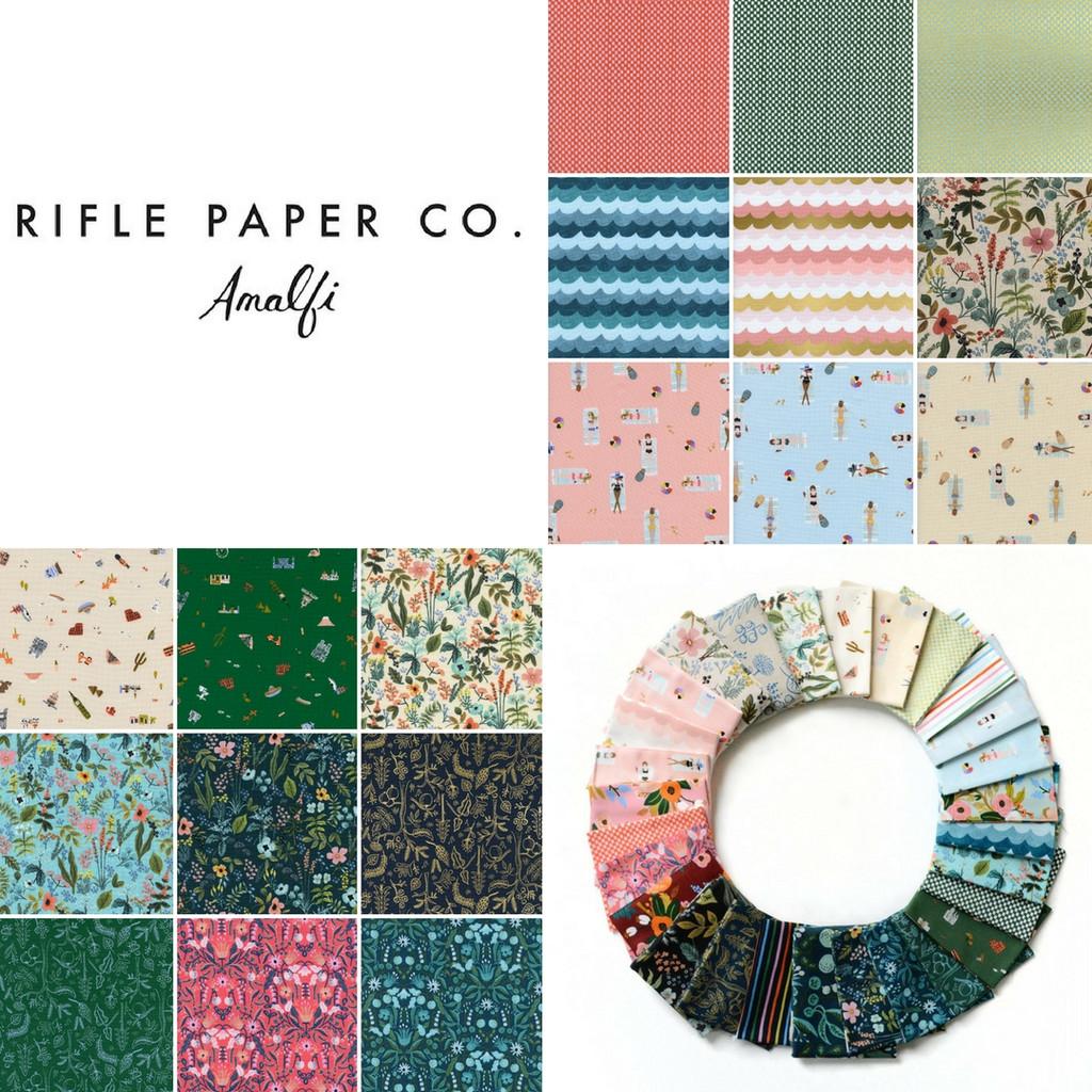 Amalfi - Fat Eighth Bundle (18 Fabrics)