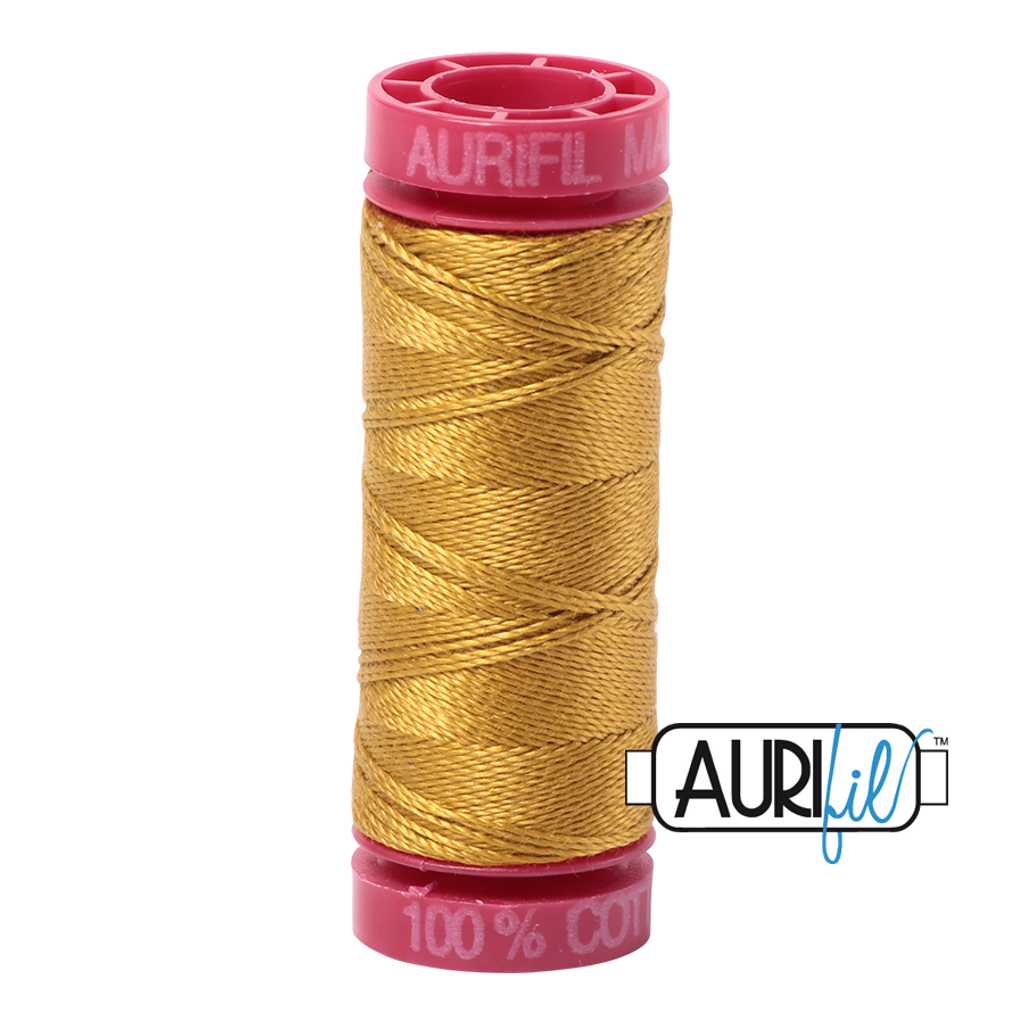 Mako Cotton 12wt 50m - 5022 (Mustard)