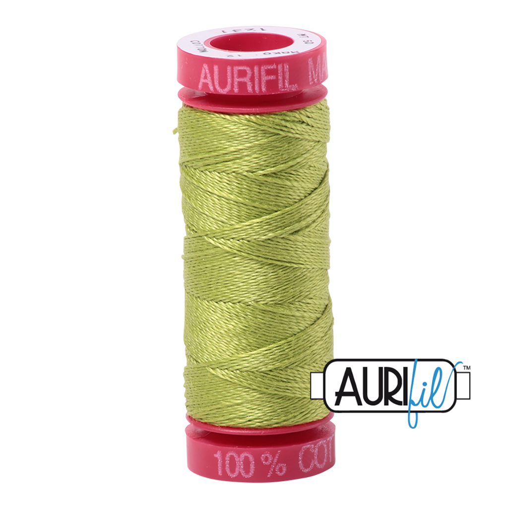 Mako Cotton 12wt 50m - 1231 (Spring Green)