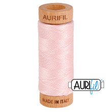 Mako Cotton 80wt 280m - 2410 (Pale Pink)