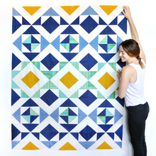 Nordic Triangles Quilt Pattern