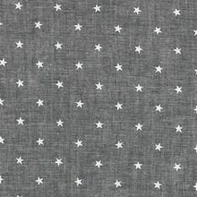 Classiques Chambray - Small Stars - Black