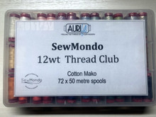 Aurifil 12wt Thread Club (First Month)
