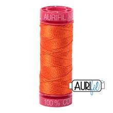 Mako Cotton 12wt 50m -1104 (Neon Orange)