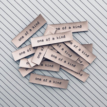 Woven Label - One Of A Kind