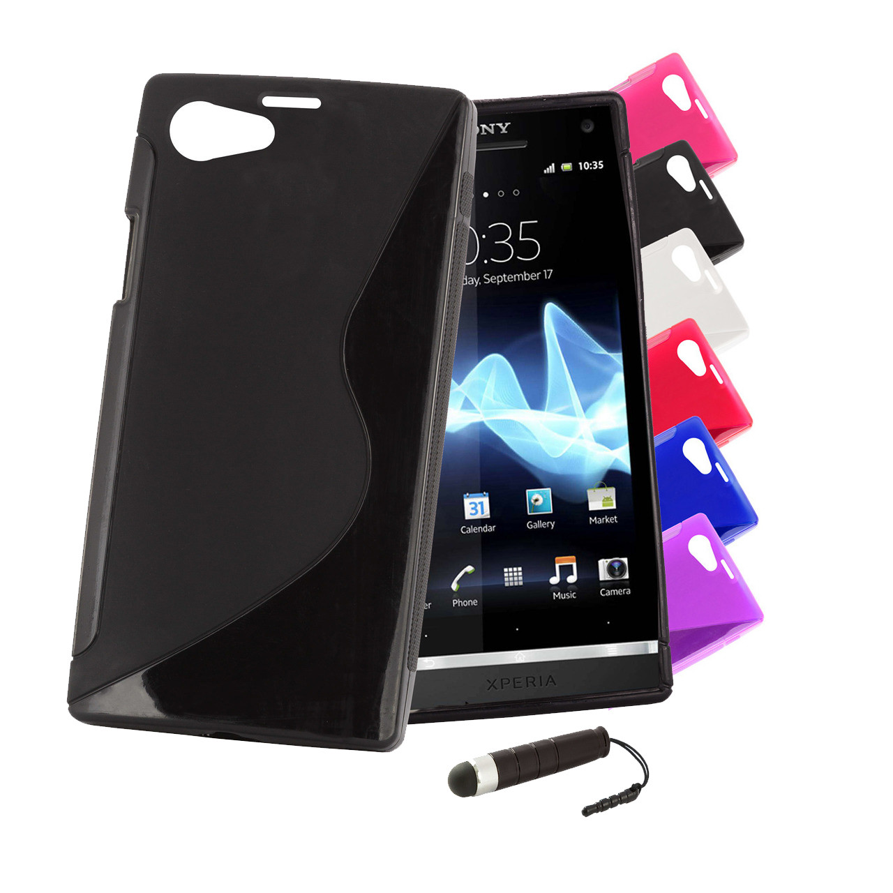 Sony Xperia Z1 Compact S Line Gel Case 32ndshop 32nd Slim
