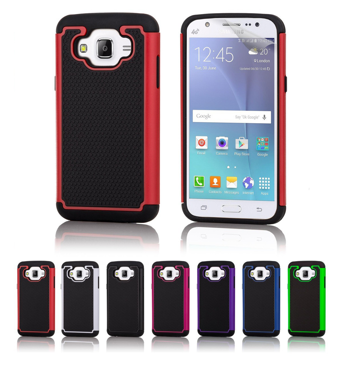 Samsung Galaxy J5 2016 Dual Layer Shockproof Case 32ndshop Kesing Ace 3 32nd In A Range Of Stylish Colours