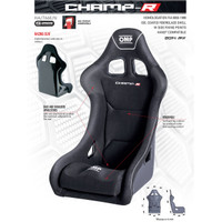 OMP CHAMP Seat - EARS Motorsports. Official stockists for OMP-HA/766E