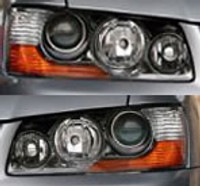 Evo 8MR / 9 Front Headlamp O.E. - EARS Motorsports. Official stockists for Mitsubishi-8301A525/6