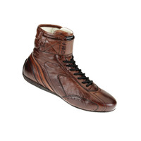OMP CARRERA Vintage Boots (High) - EARS Motorsports. Official stockists for OMP-IC/782