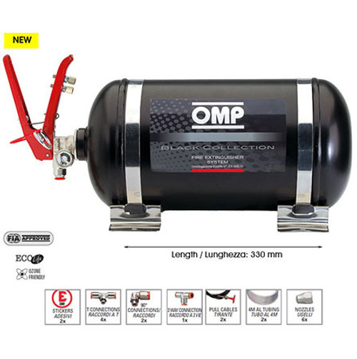 OMP Steel Mechanical Plumbed In System - EARS Motorsports. Official stockists for OMP-CMSST1