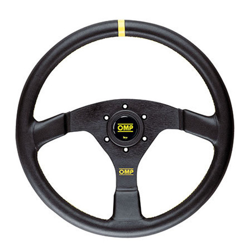 OMP VELOCITA 380 Steering Wheel (Leather) - EARS Motorsports. Official stockists for OMP-OD/2030