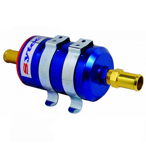 Sytec Bullet F1 Fuel Filter JIC In/Out - EARS Motorsports. Official stockists for Sytec-BULLETF1