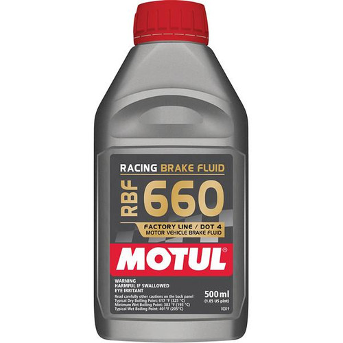 Motul RBF660 Brake Fluid (500ml) - EARS Motorsports. Official stockists for Motul-RBF660