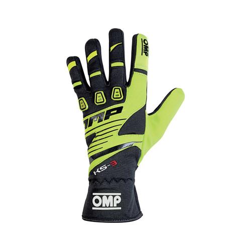 OMP KS-3 Gloves (2018) - EARS Motorsports. Official stockists for OMP-KK02743E