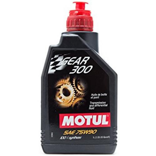 Motul Gear 300 75w90 (1 Litre) - EARS Motorsports. Official stockists for Motul-MT75W901L