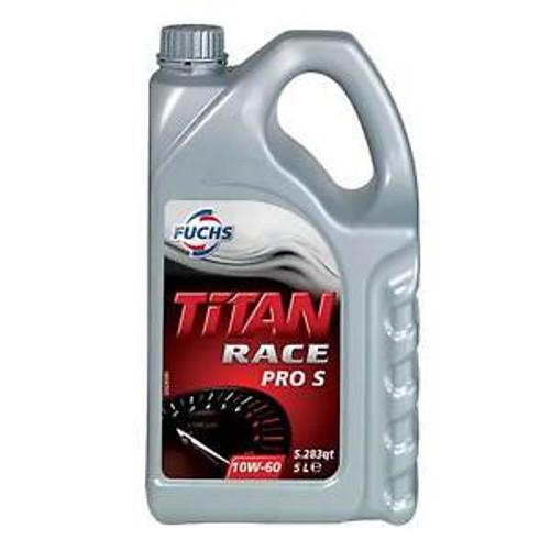 Fuchs Titan Race Pro S 10w60 (5 Litre) - EARS Motorsports. Official stockists for Fuchs-F10W605L