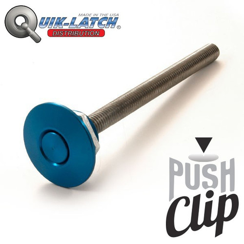 Quick-Latch Push Clip Fastner
