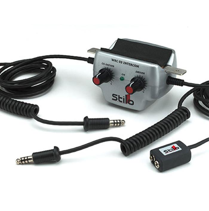 Stilo WRC03 Intercom Amplifier - EARS Motorsports. Official stockists for Stilo-AB0200