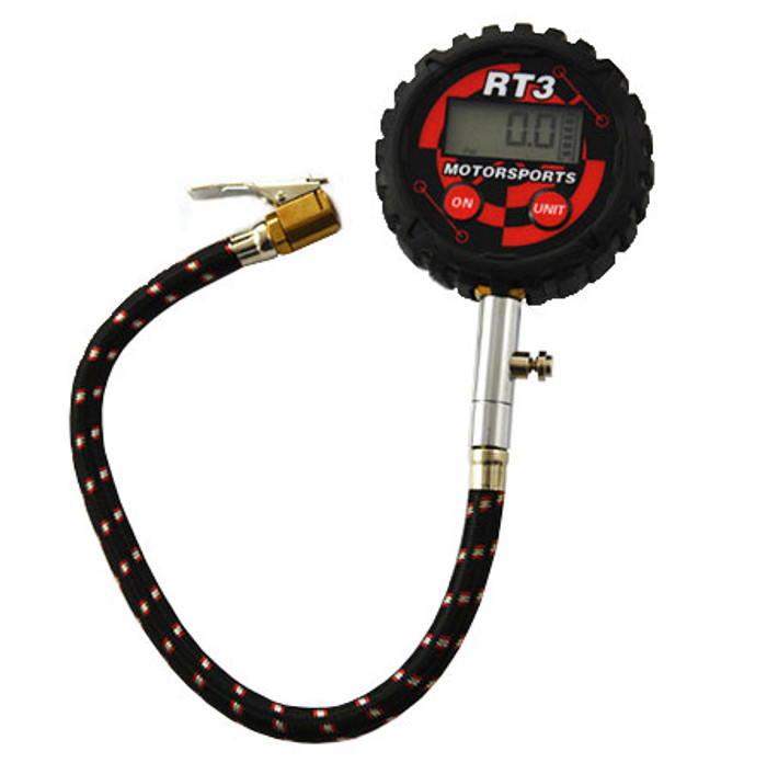 RT3 Tyre Pressure Gauge Bar/PSI - EARS Motorsports. Official stockists for RRS-RT3