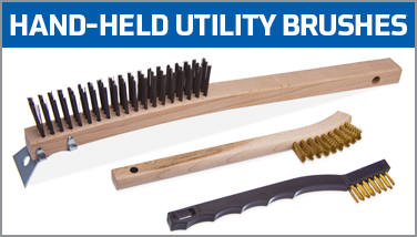 Hand-Held Utility Brushes