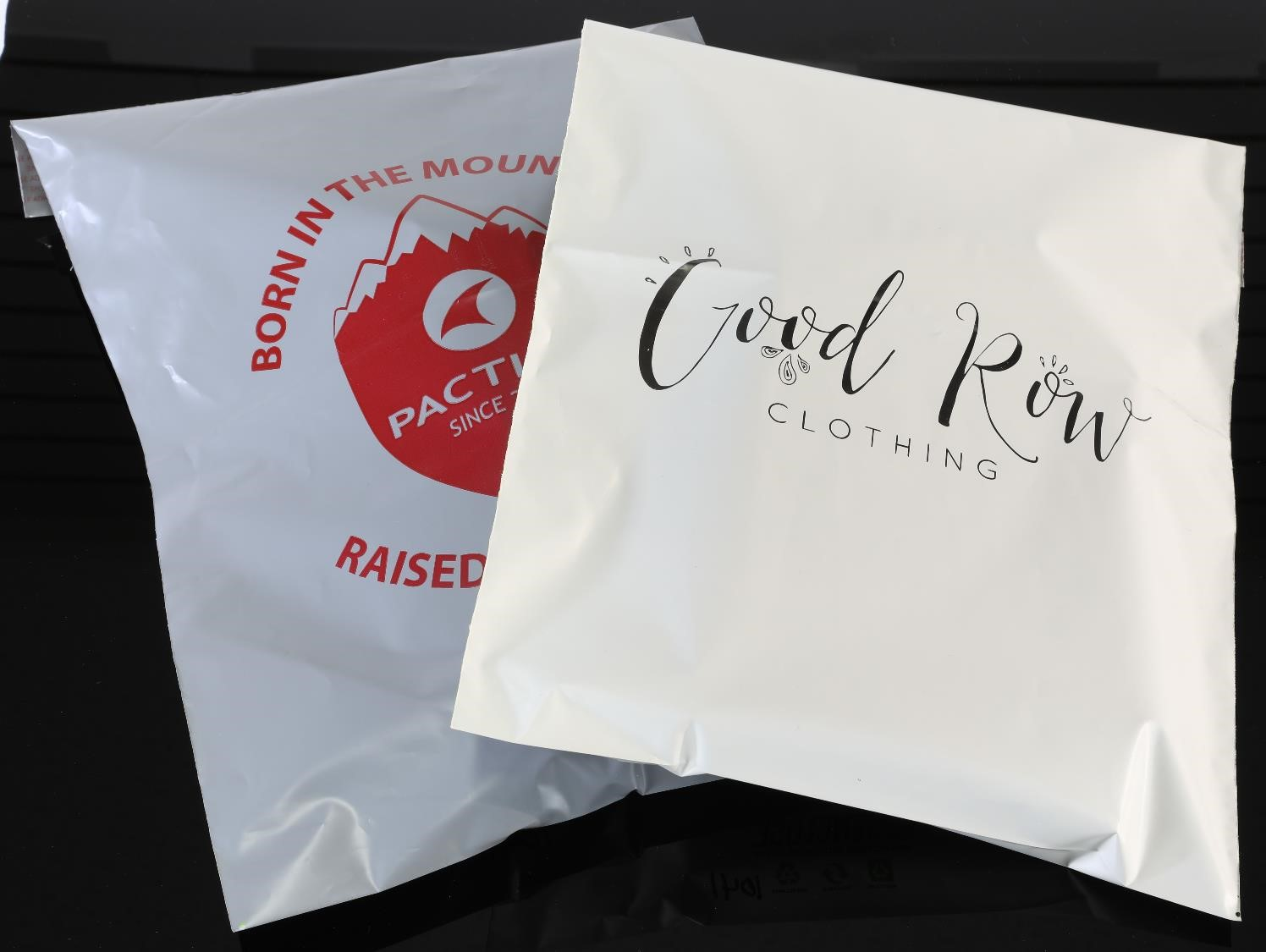 ecoenclose custom branded recycled poly mailers