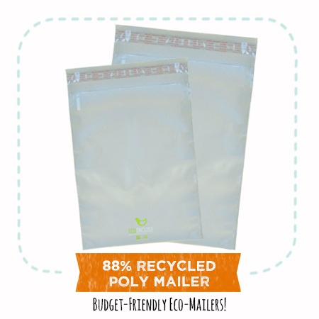 EcoEnclose's 88% recycled poly mailers