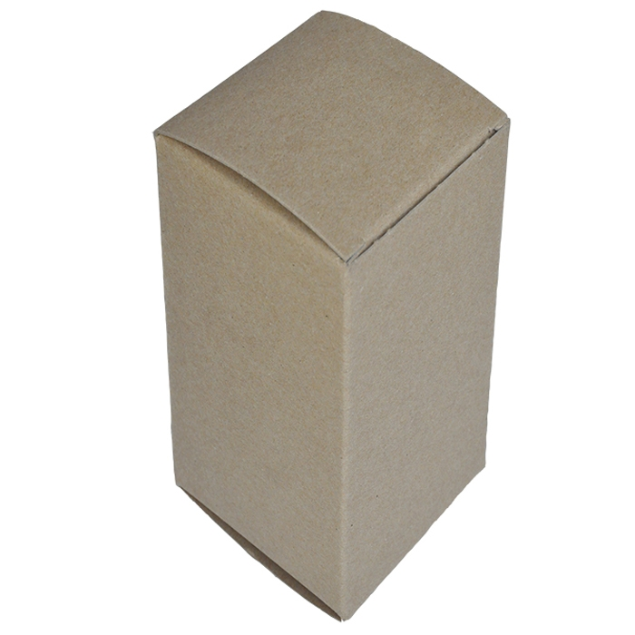 """3 x 3 x 6"""" - 100% Recycled Tuck Boxes - Case of 250"""