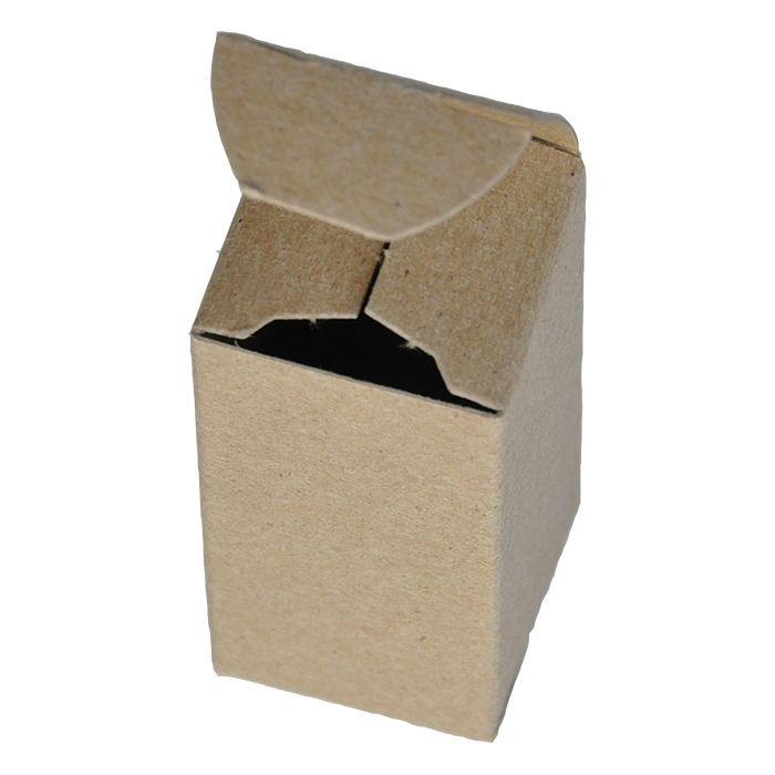 """1.5 x 1.5 x 3"""" - 100% Recycled Tuck Boxes - Bundle of 25"""