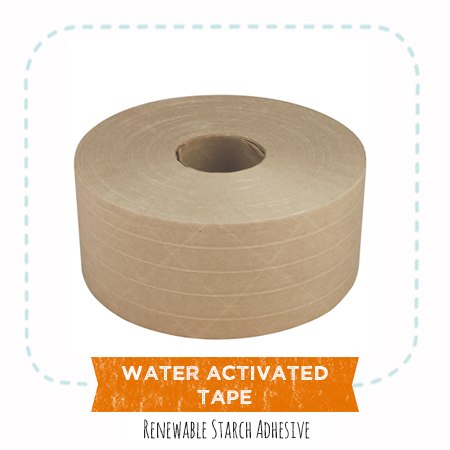 Ecofriendly Water Activated Tape