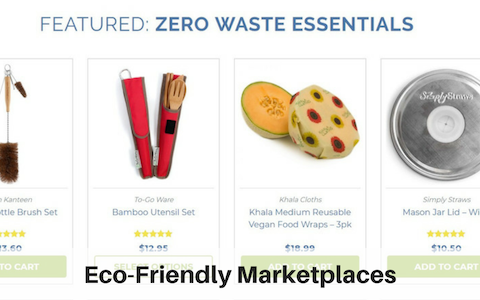 Eco-friendly marketplaces