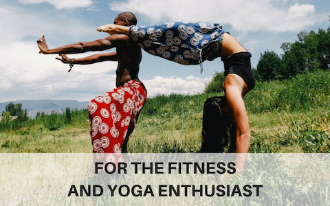 Eco friendly gift ideas for the fitness and yoga enthusiast