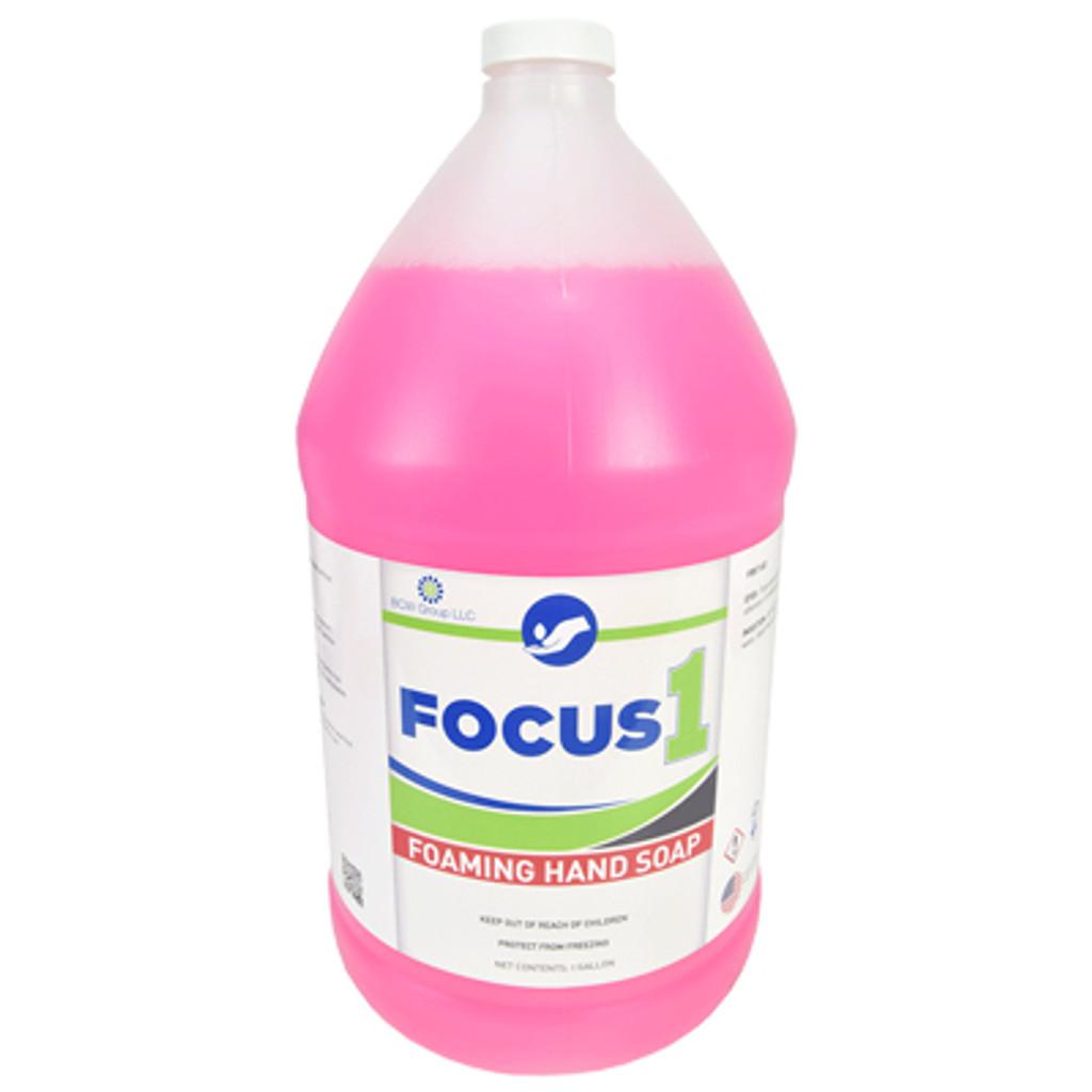 Focus1 Foaming Hand Soap - 4 Gallons per Case