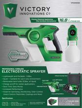 Electrostatic Cordless Sprayer by Victory Innovations w/CASE