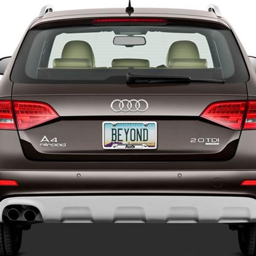 es b carbon no parts plate longer volkswagen fiber audi frame genuine available license