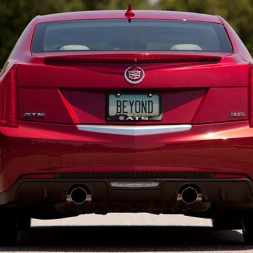 Cadillac ATS Black Metal License Plate Frame - Car Beyond Store