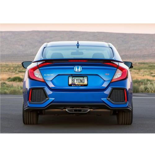 Honda Civic Si Black Metal License Plate Frame - Car Beyond Store