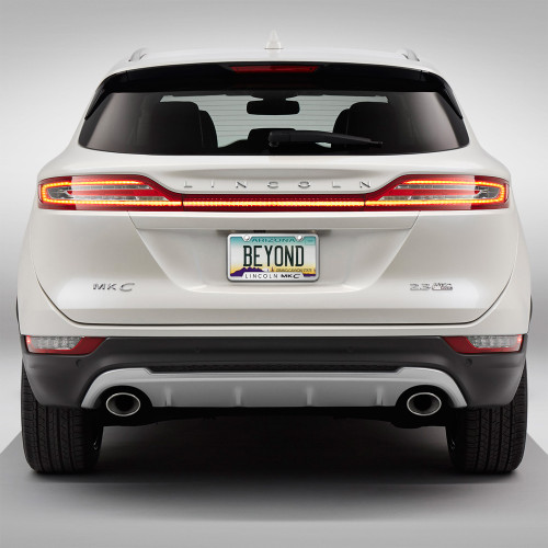 Lincoln MKC Brushed Steel License Plate Frame - Car Beyond Store