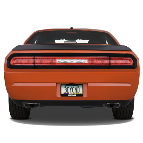 392 HEMI Black Metal License Plate Frame for Challenger, Charger, RT ...